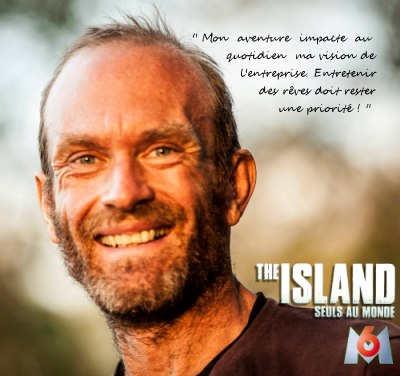 Michel Vernet The Island M6 gérant de Colh2o